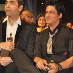 Shahrukh Khan smoking with Karan Johar