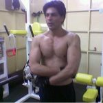 Shahrukh Khan in the Gym