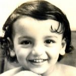 John Abraham childhood photo