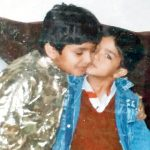 Saqib-Saleem-and-Huma-Qureshi-Childhood