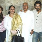 Saqib Saleem with his Sister Father Mother