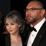 Sarah Jade with Husband Dave Batista