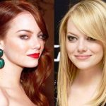 Emma Stone hair colors