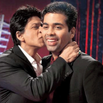 Shahrukh-Khan-kissing-Karan-Johar