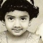Sridevi Young Childhood Photo
