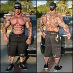 Rich-Piana-Chest-and-Back-Tattoos