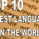 Top 10 Oldest languages in the World