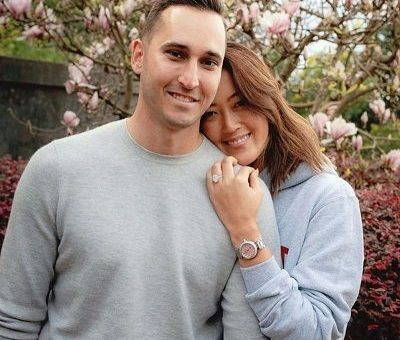 Jonnie-West-and-Michelle-Wie-American-Professional-Golfer-engaged-each-other